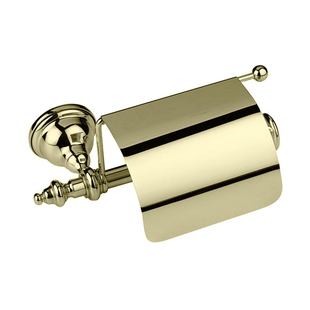 Avignon Covered Toilet Roll Holder Antique Gold