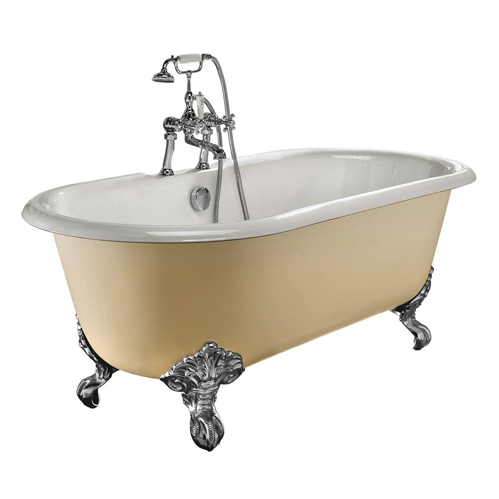 Bentley double ended bath with Imperial feet