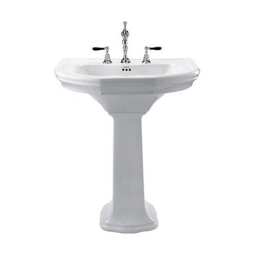 Bergier large basin and pedestal