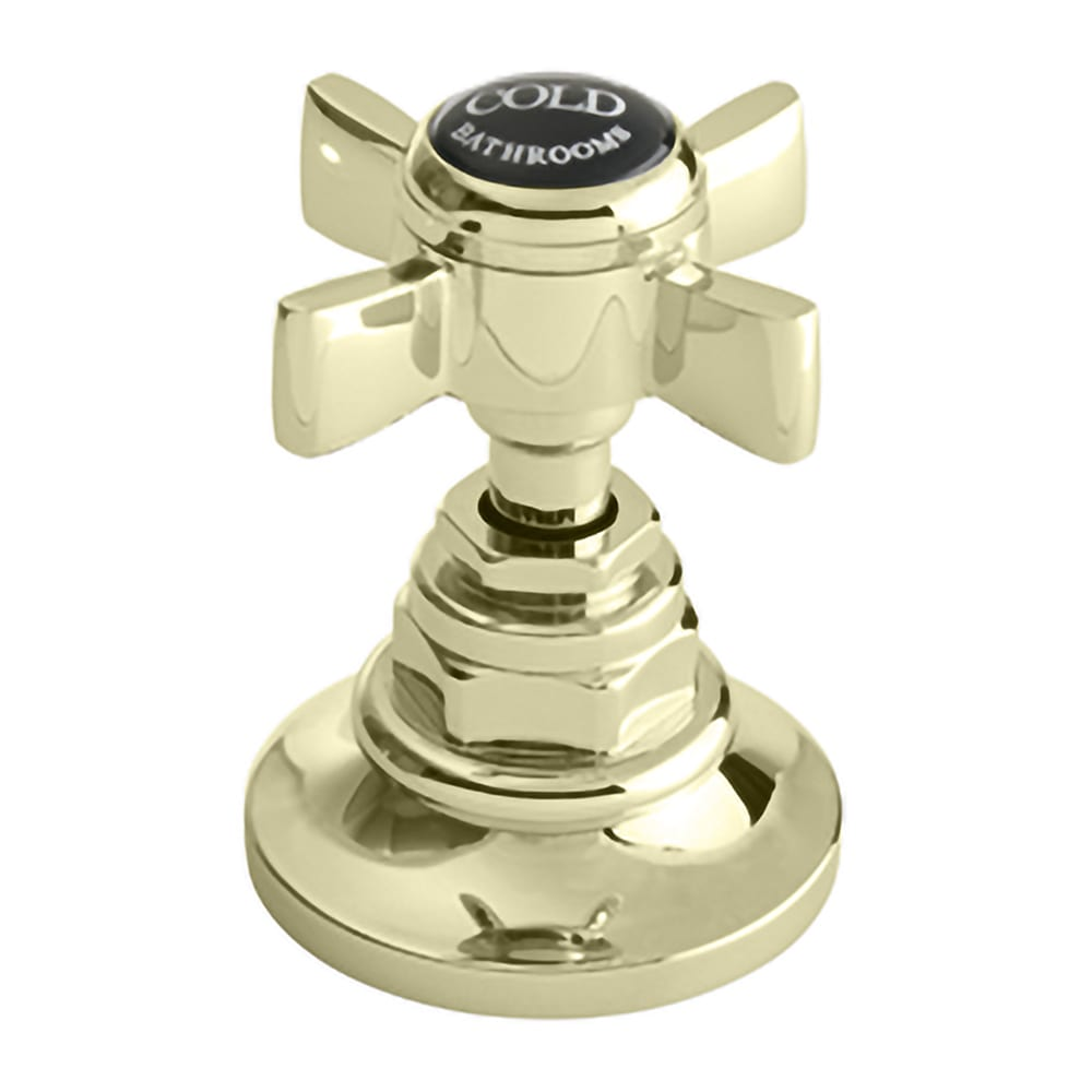 Edwardian 3-hole basin mixer complete with pop up waste