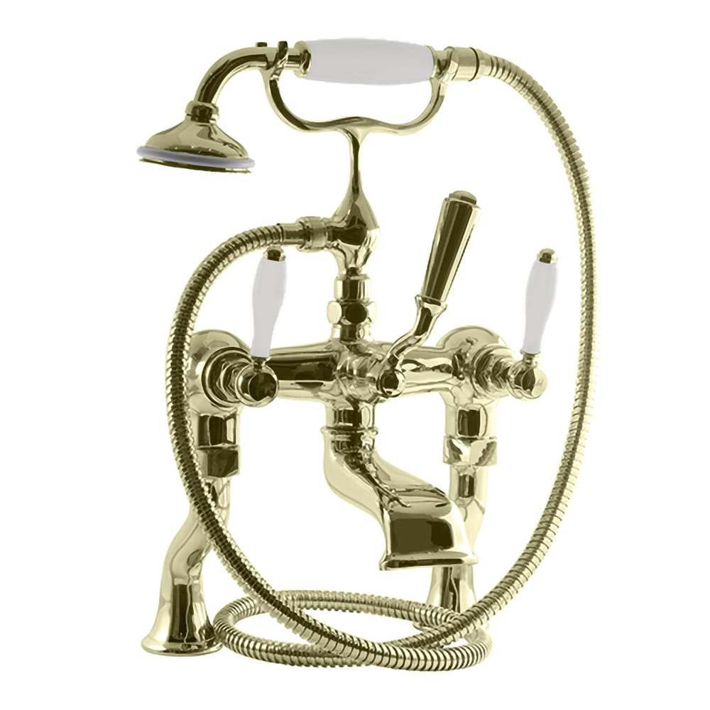 Radcliffe Bath shower mixer, deck or wall mounted