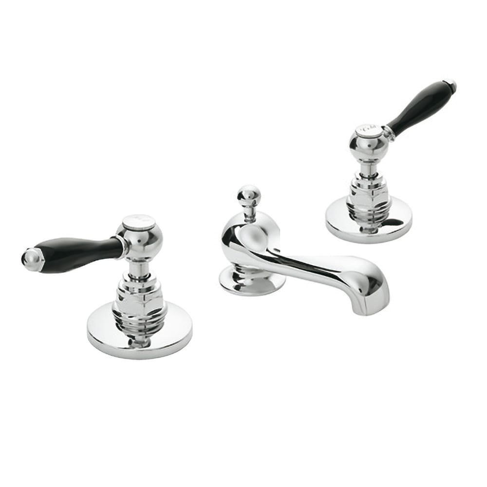 Radcliffe 3-hole basin mixer complete with pop up waste