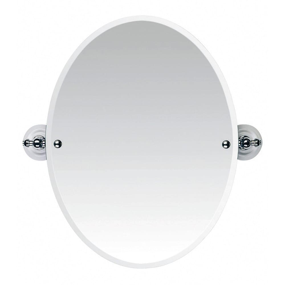 Cambridge Tilting Oval Bevelled Mirror CP