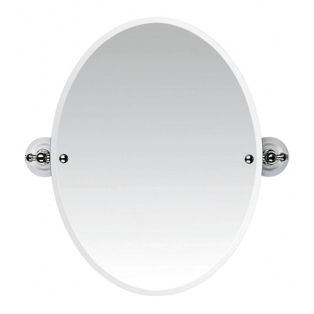 Cambridge Tilting Oval Bevelled Mirror PN