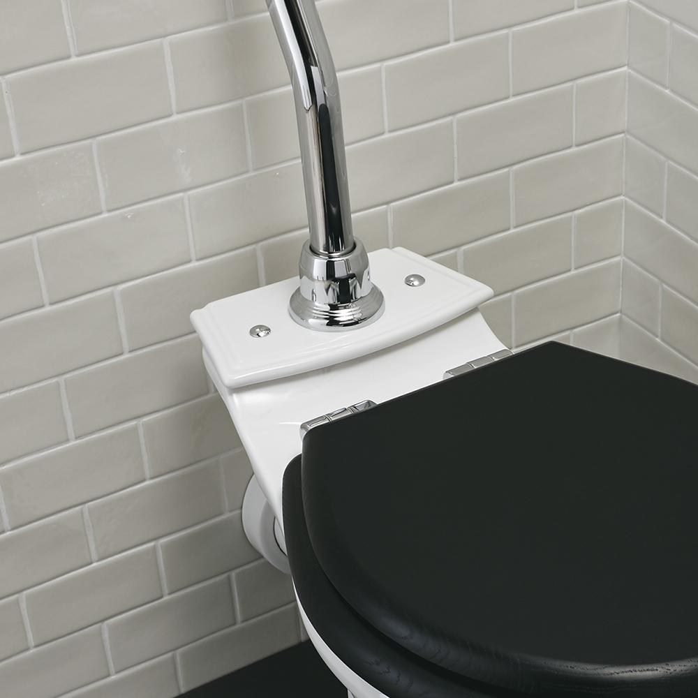 Firenze high level toilet ceramic plate option