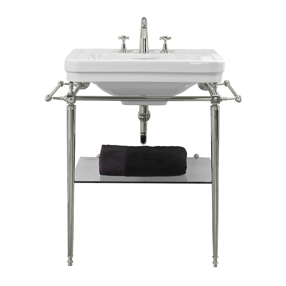 Chelsea Basin Stand 620mm Polished nickel