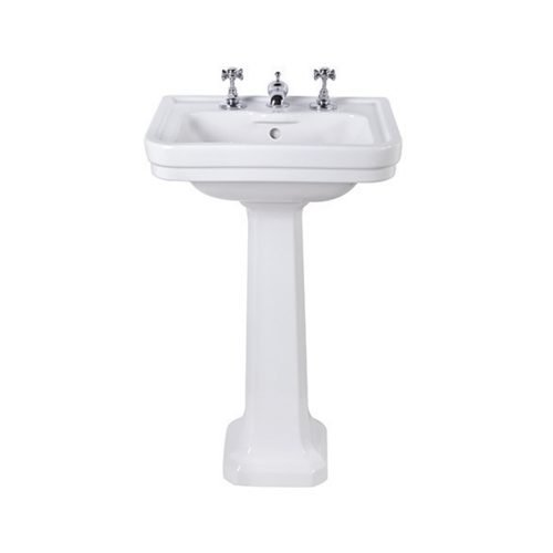 Chelsea Small Basin and pedestal