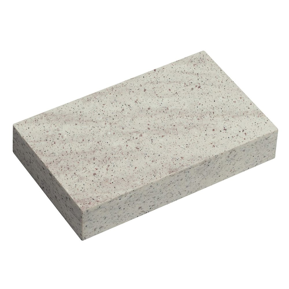 composite worktop concrete haze swatch