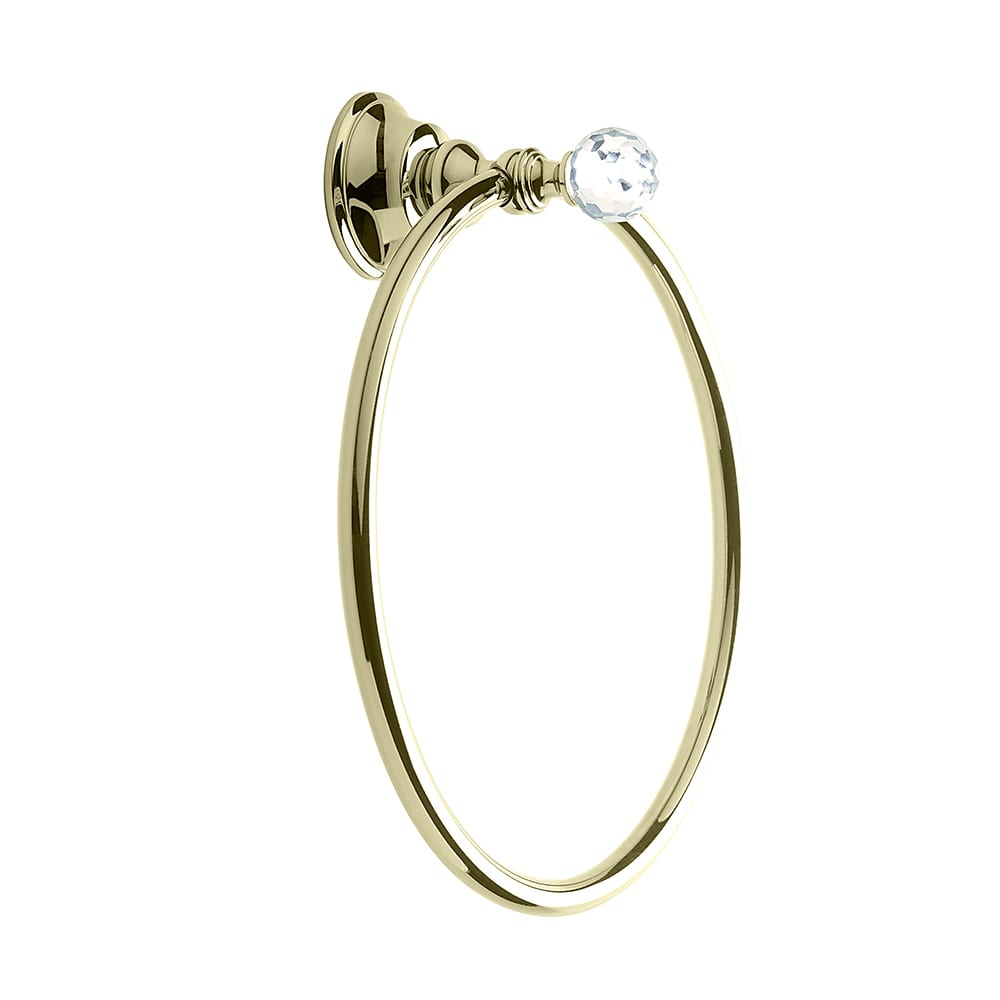 Pimlico Wall Mounted Towel Ring Antique Gold