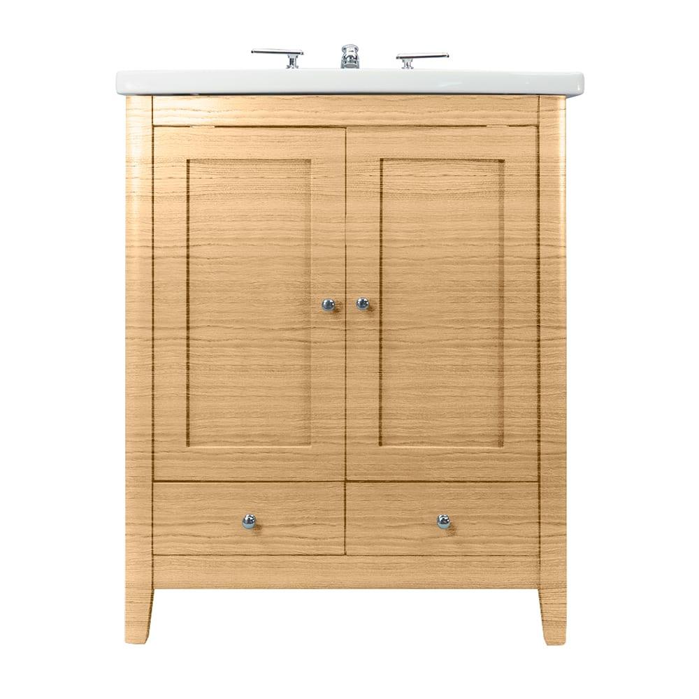 Radcliffe Esteem square vanity unit 2 wooden doors, 2 drawers