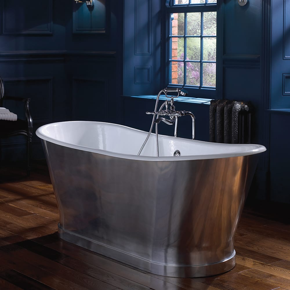 Radison cast iron bath aluminium