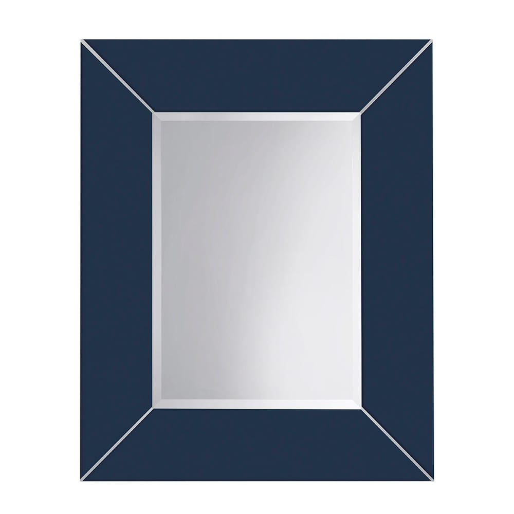 Rebecca luxury mirror with metal strips_Moseley Blue