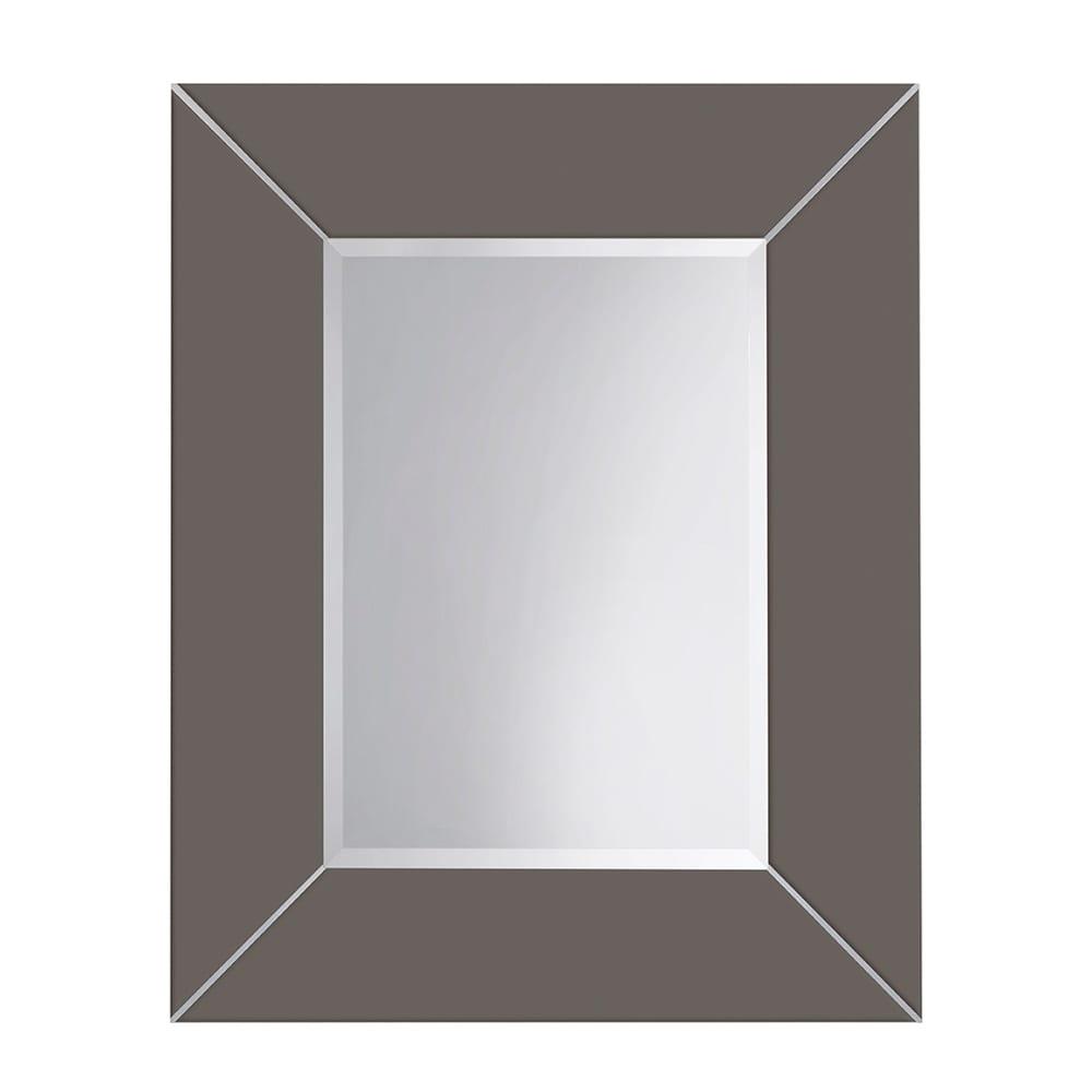 Rebecca luxury mirror with metal strips_Stonewell Slate