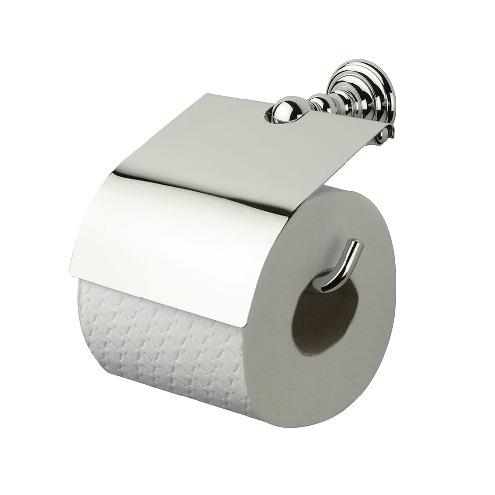 Richmond Covered Toilet Paper Holder Polished Nickel