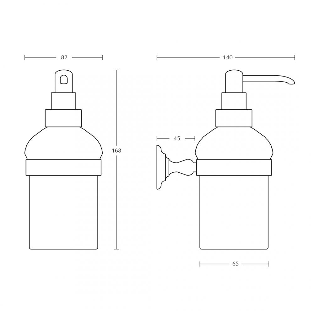 Richmond Soap Dispenser