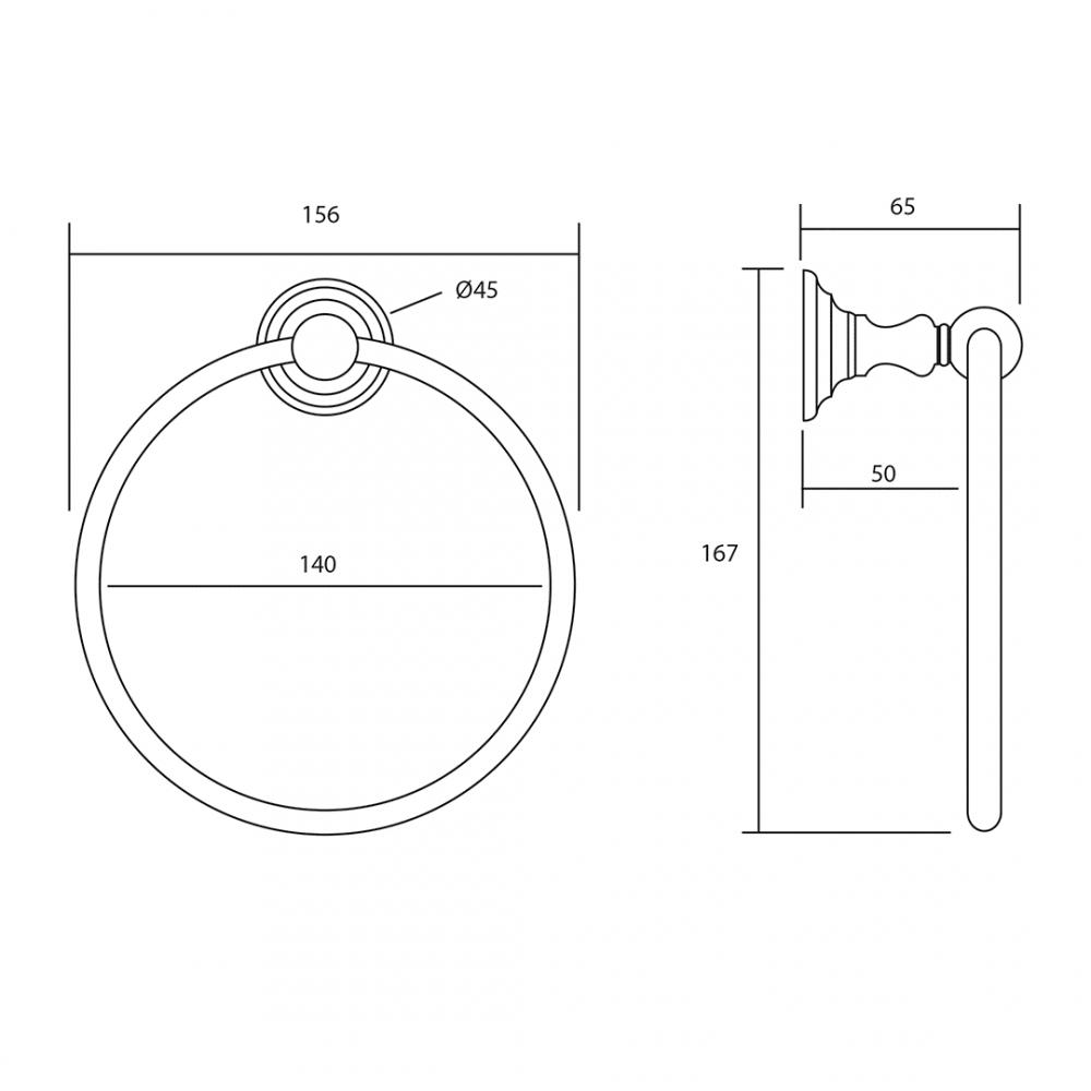 Richmond Towel Ring