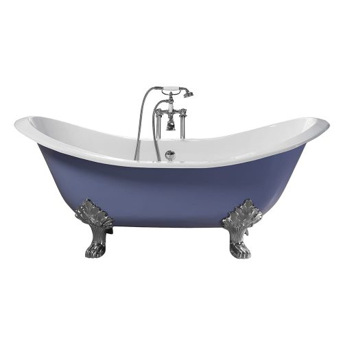 Sheraton double ended slipper bath supplied with Lion feet