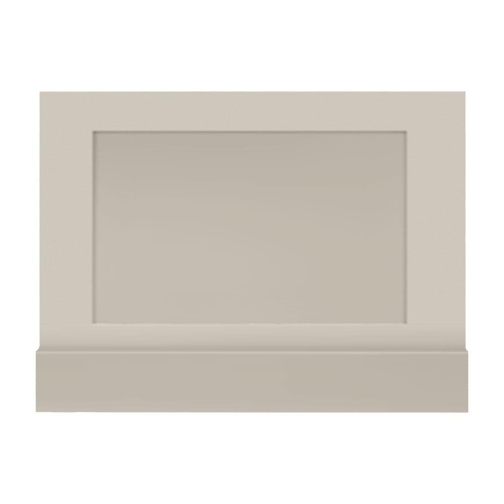 Thurlestone bath end panel in cream haze