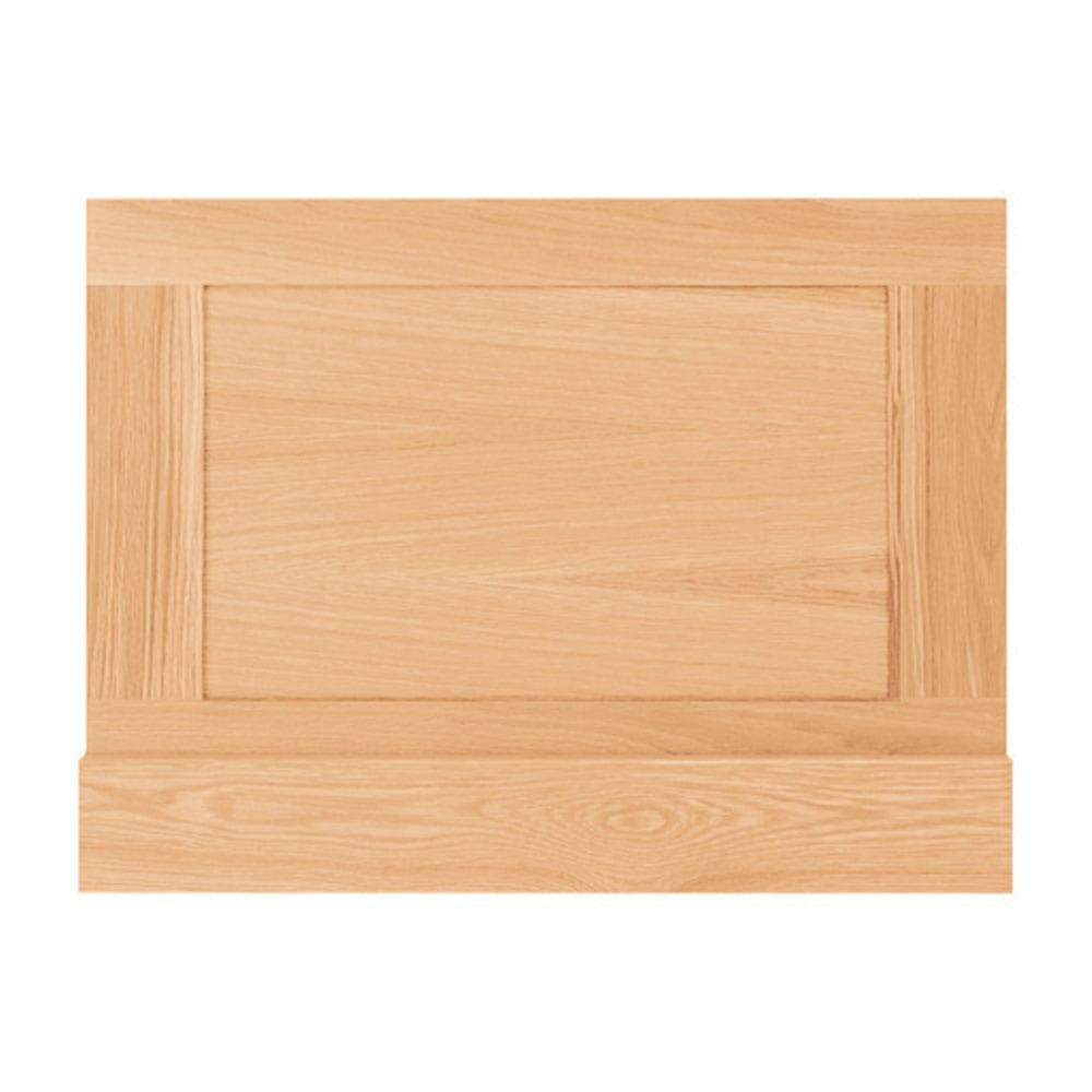 Thurlestone bath end panel in light oak