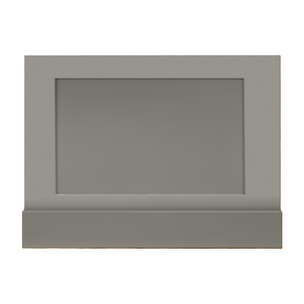 Thurlestone bath end panel in stoneywell slate
