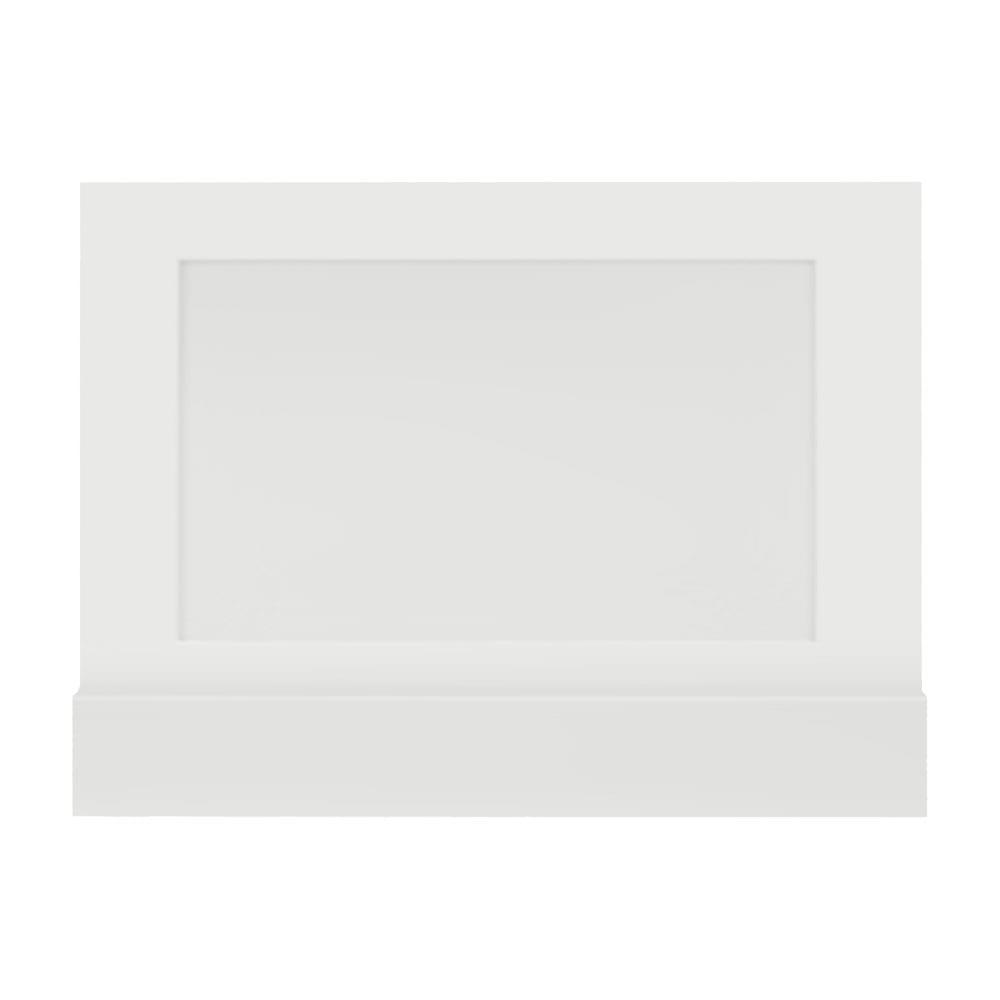 Thurlestone bath end panel in white