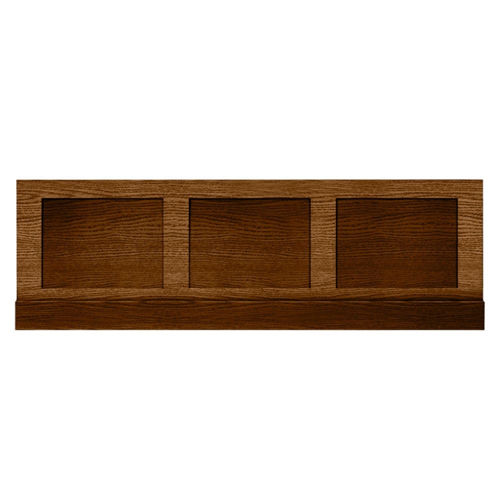 Thurlestone bath panel front in Dark Oak