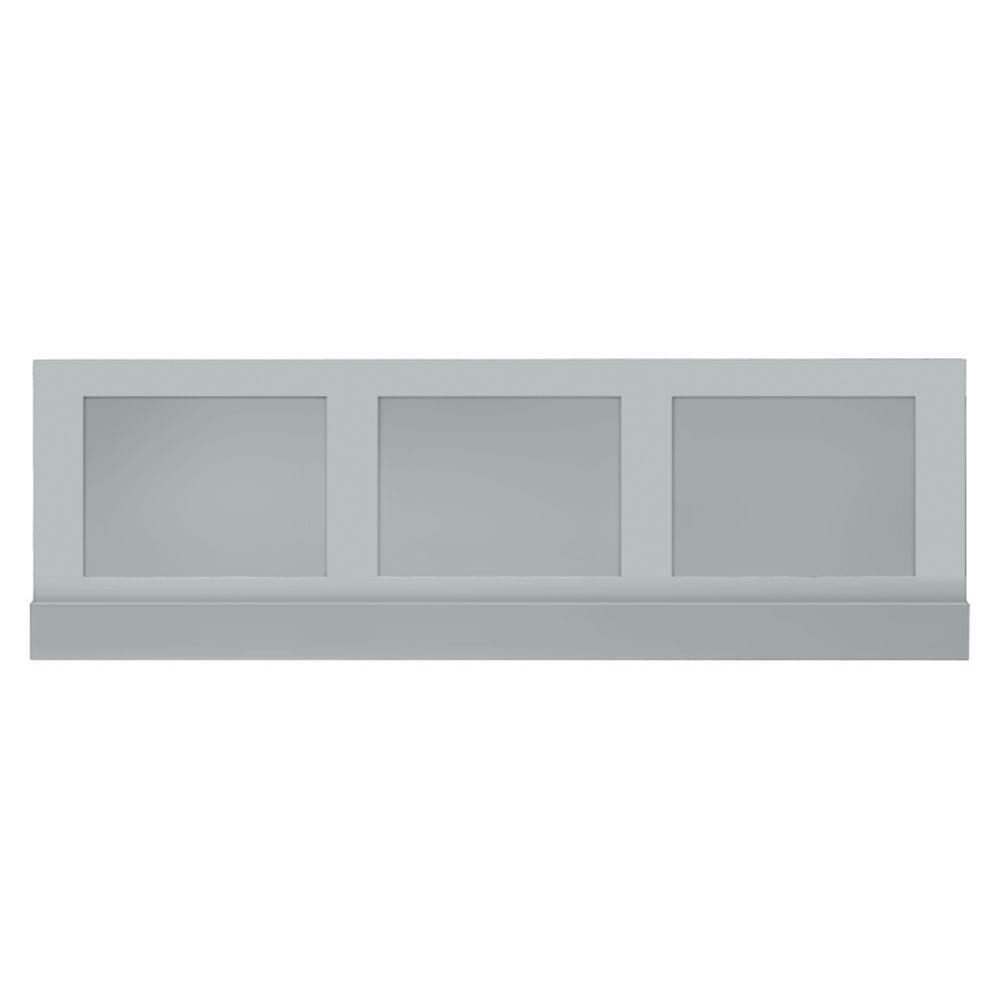 Thurlestone bath panel front in Grey Ecru