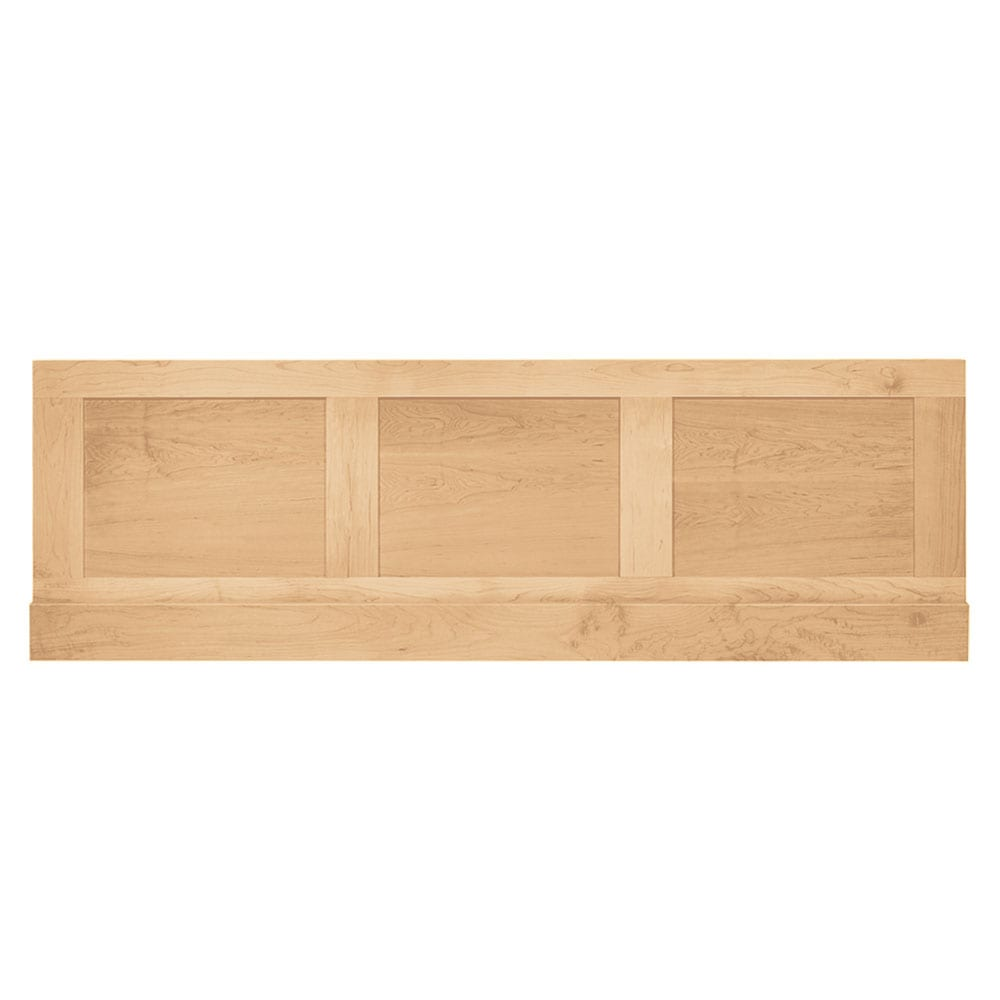 Thurlestone bath panel front in Light Oak