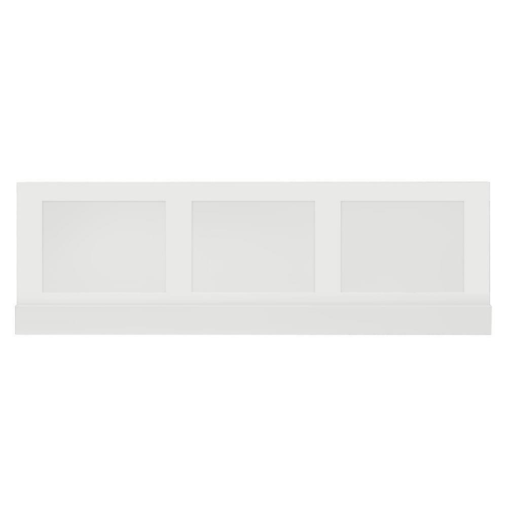 Thurlestone bath panel front in white